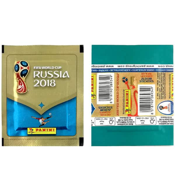 Panini WM 2018 - Tüte Version 670