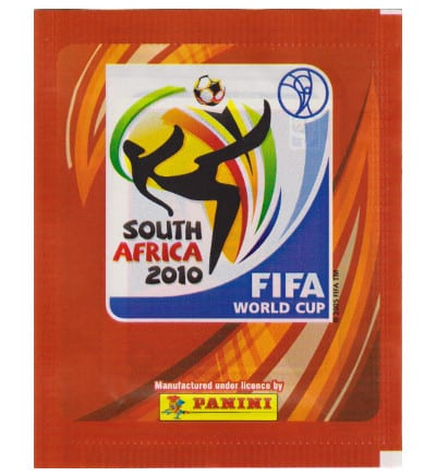 Panini WM 2010 Tüte - Version Europa