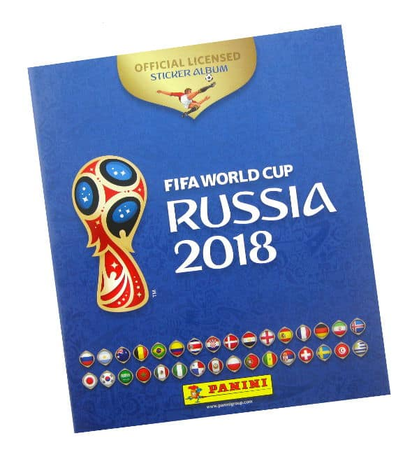 Panini WM 2018 Sticker Album 670