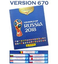 Panini WM 2018 Sticker Album - Version 670