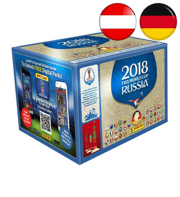 Panini WM 2018 Sticker - Display