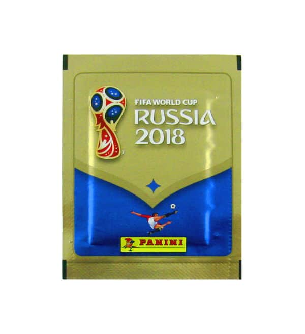 Panini WM 2018 Sticker Tüte 670