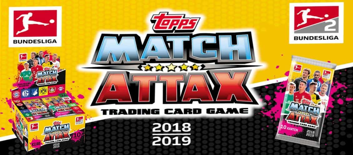 Topps Bundesliga Match Attax 2018/19