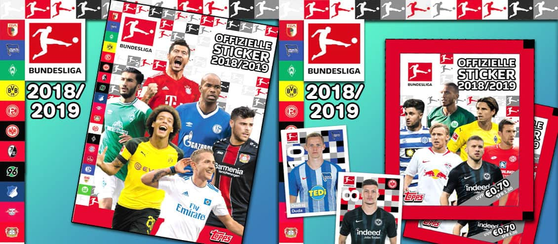 Topps Bundesliga Sticker 18/19