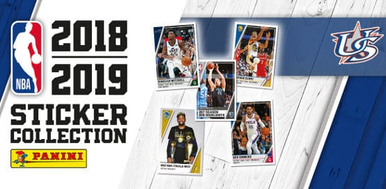 Panini NBA Sticker