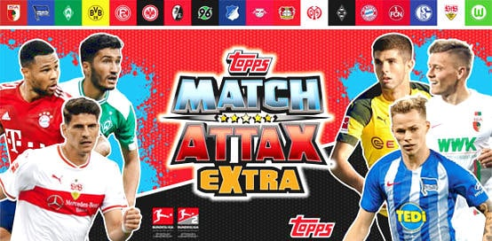 Topps Bundesliga Match Attax Extra 2018/19