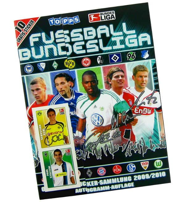 Topps Bundesliga 2009 / 2010 Sticker-Album