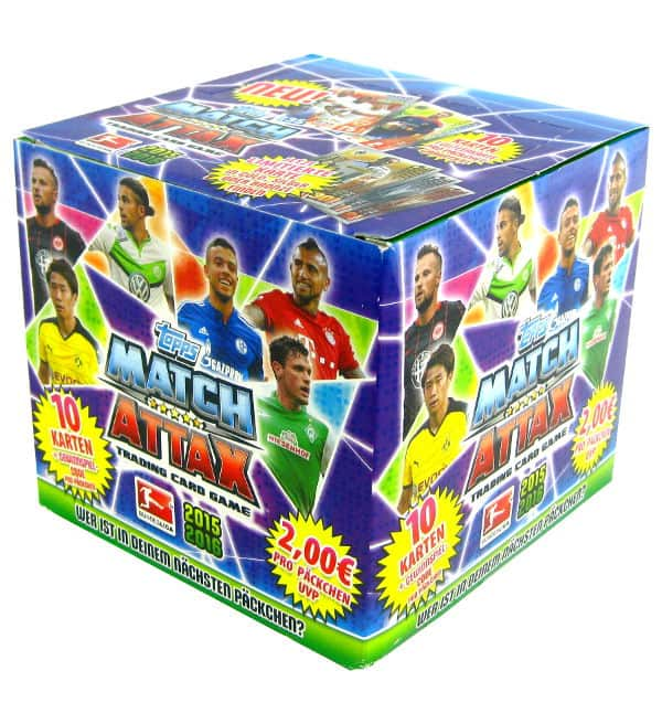 Topps Bundesliga Match Attax 2015 / 2016 - Box 50 Tüten