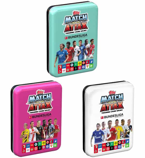 Topps Bundesliga Match Attax 2020/21 - Mini-Tin Set