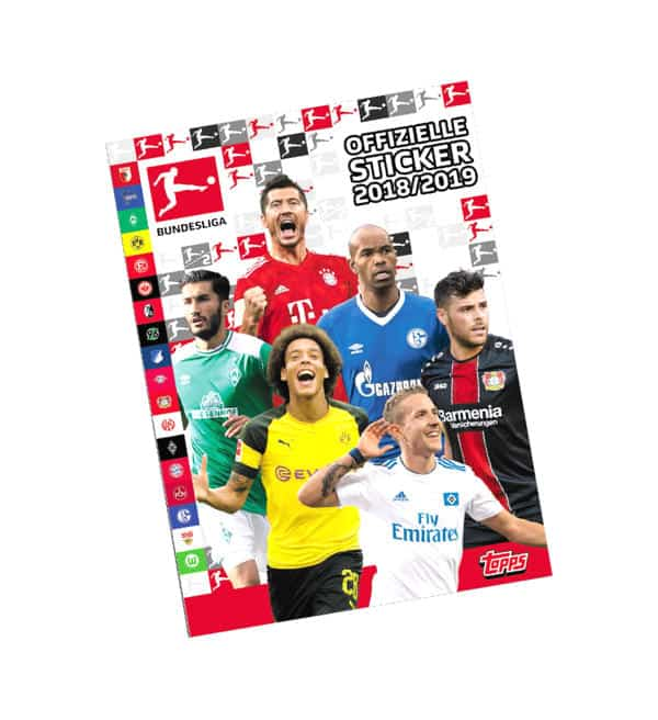 Topps Bundesliga Sticker 2018 2019 Album