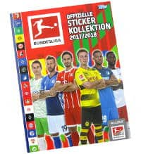 Topps Bundesliga Sticker 2017 2018 Album