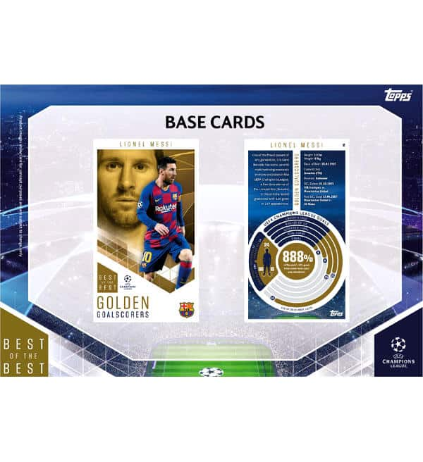 Topps CL Best of the Best 2020/21 Base Cards