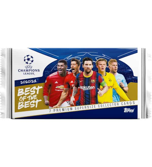 Topps CL Best of the Best 2020/21 Booster