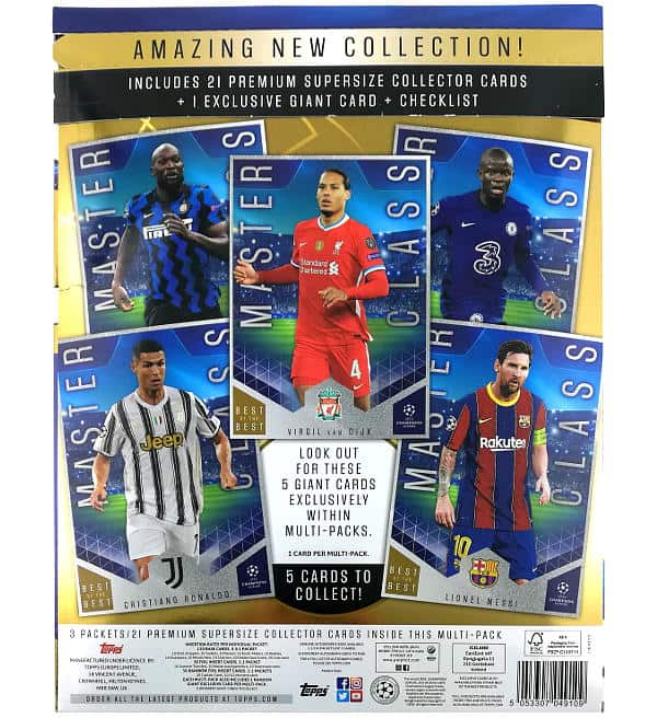 Topps CL Best of the Best 2020/21 Multi-Pack
