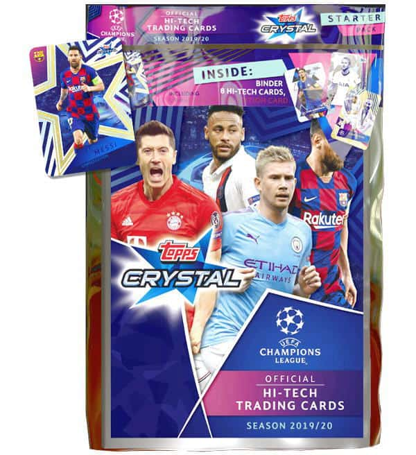 Topps Champions League Crystal 2019/20 Starter Pack