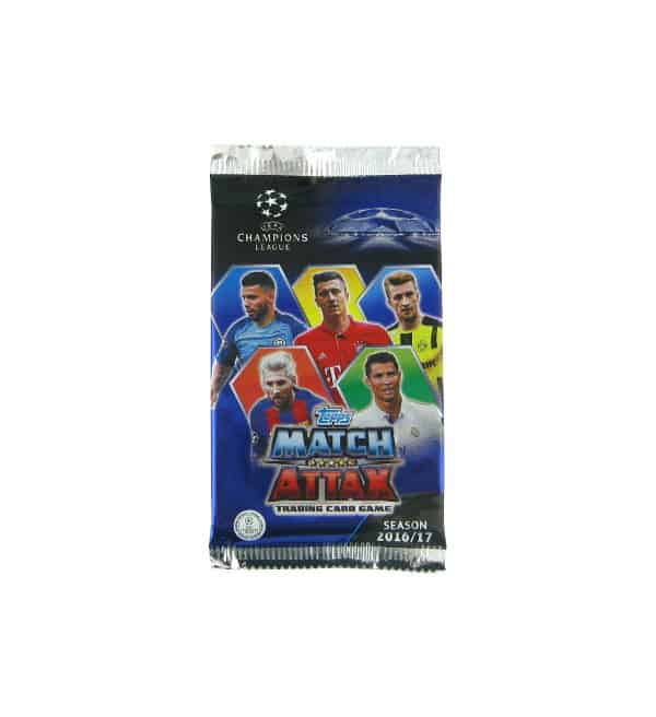 Topps Champions League Match Attax 2016 / 2017 Tüte