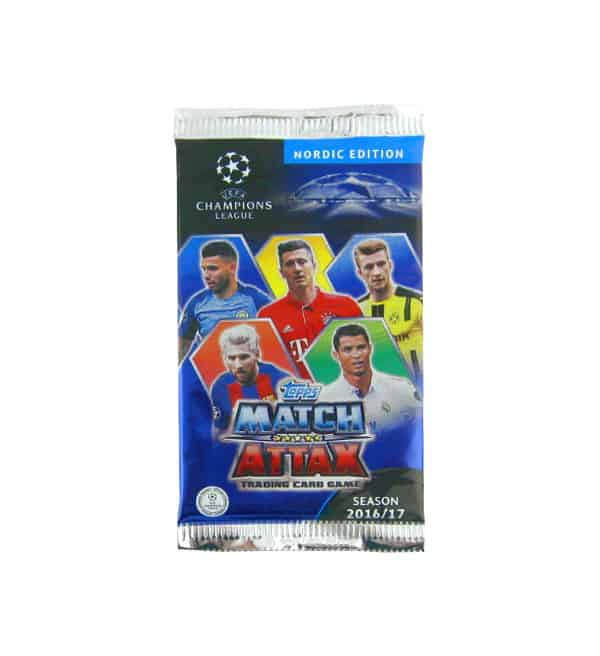 Topps CL Match Attax 2016 / 2017 Nordic Edition Tüte