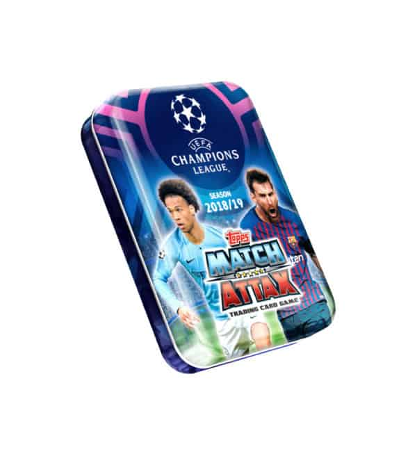 Topps CL Match Attax 2018 / 2019 Mini-Tin 4