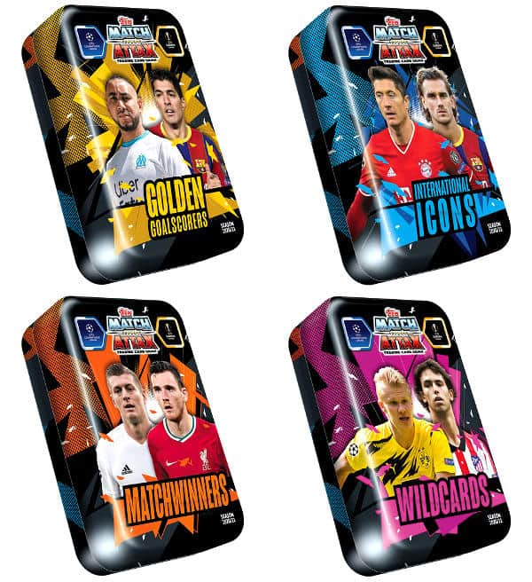 Topps CL Match Attax 2020/21 Mega Tin Set