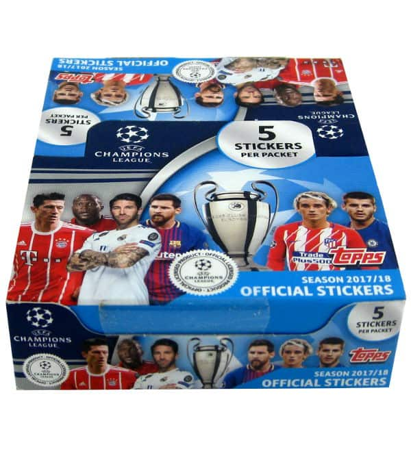 Topps Champions League Sticker 2017 / 2018 - 30 Tüten