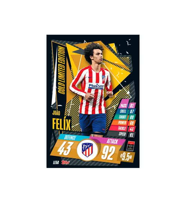 Joao Felix Gold Limited Edition Card