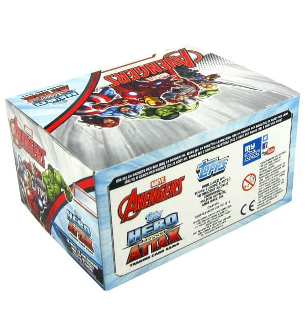 Topps Hero Attax Avengers - Display mit 192 Karten