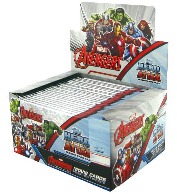 Topps Hero Attax Avengers - Display mit 24 Tüten