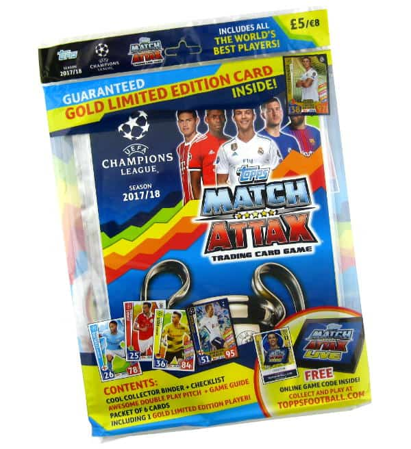 Topps Champions League Match Attax 2017 / 2018 Starter Pack