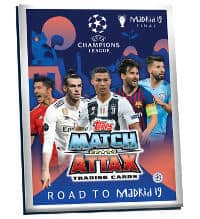 Topps CL Match Attax Road To Madrid 19 Sammelmappe