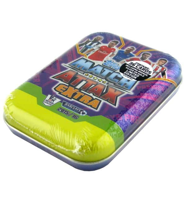 Topps Premier League Match Attax Extra 2015 / 2016 Mini Tin