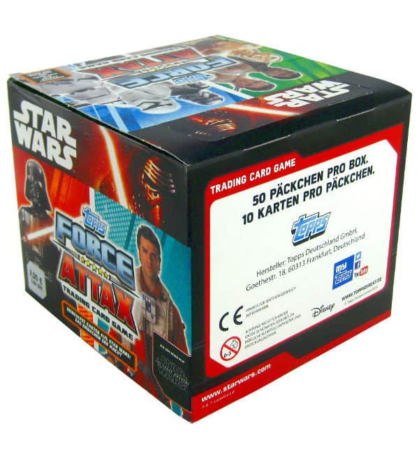 Topps Star Wars Force Attax Ep. 7 - Display mit 500 Cards