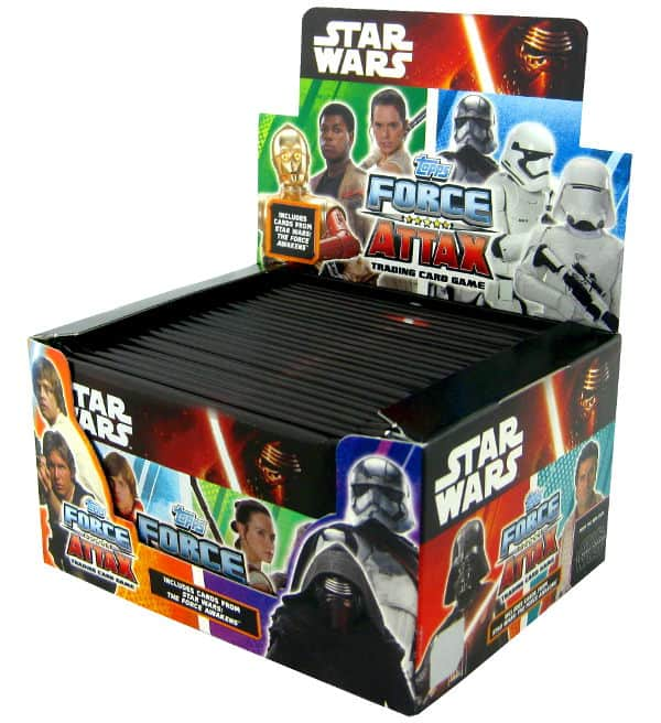 Topps Star Wars Force Attax Ep. 7 - Display mit 24 Tüten