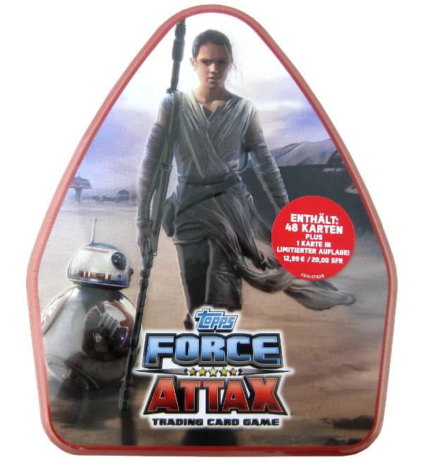 Topps Star Wars Force Attax Ep. 7 - XXL-Tin 2 Preis