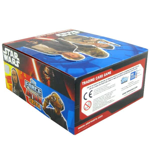 Topps Star Wars Force Attax Extra Ep. 7 - Box mit 288 Cards