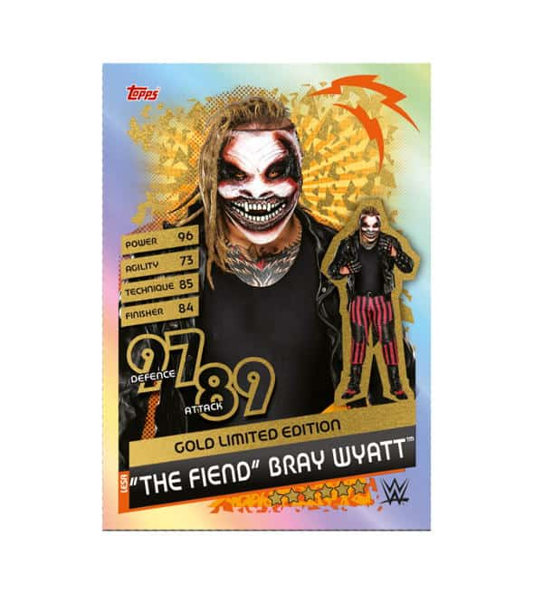 The Fiend Bray Wyatt Gold Limited Edition Card
